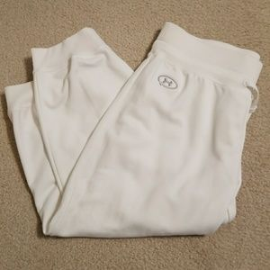 Under Armour capri sweatpants new condition